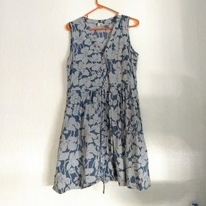 Grey and Blue Dress from GAP